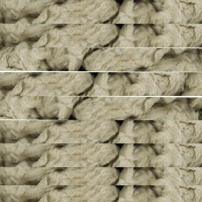 Flocos de lã de rocha