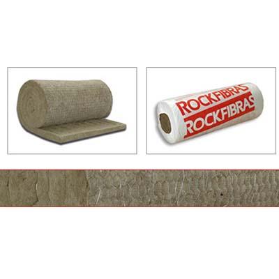 Lã de rocha para alta temperatura