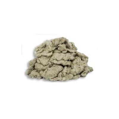 Quais são os principais usos dos flocos de lã de rocha?