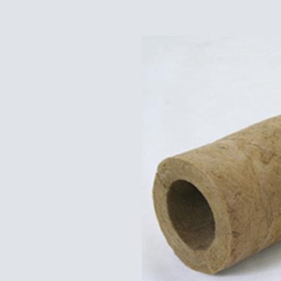 Tubo de lã de rocha bipartido